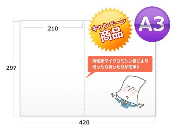 【特別企画】今だけお得!!A3 1,000枚 100セット限定【もちろん送料無料】