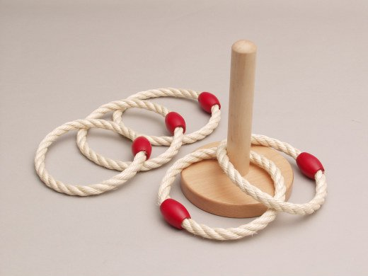 木製輪なげ