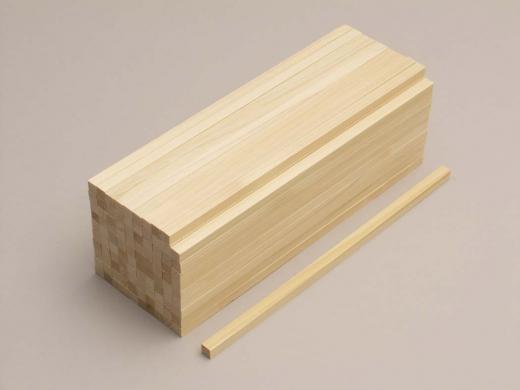 箸作り用木地 ひのき(50膳)
