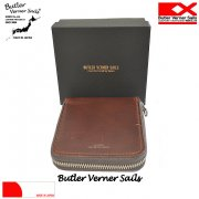 Butler Verner Sails �Хȥ顼�Хʡ������륺 HORWEEN LEATHER ROUND ZIP WALLET �쥶���饦��ɥ��å�����ޤ����