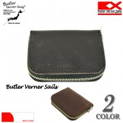 Butler Verner Sails �Хȥ顼�Хʡ������륺 HORWEEN LEATHER ROUND ZIP COIN PURSE �ۡ�������쥶�������󥱡���