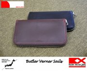 Butler Verner Sails �Хȥ顼�Хʡ������륺 HORWEEN LEATHER ROUND ZIP LONG WALLET �쥶���饦��ɥ��å�Ĺ����