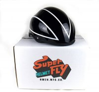 SUPERFLY HELMET CUSTOM PAINT Ver. (ブラックLサイズ)