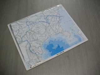 立体県別地図 神奈川県