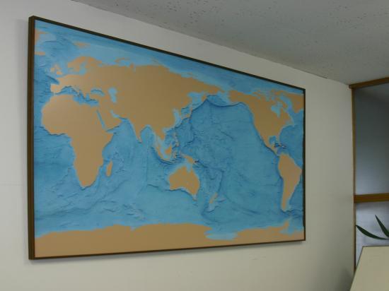世界海底地形モデル (レンタル品)