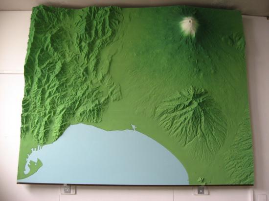 富士山地形モデル(静岡側) (レンタル品)