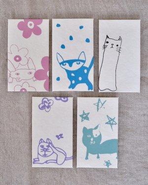 子どもの絵のポチ袋5枚セット