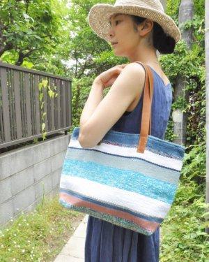 さき織り トートバッグ L (0620)