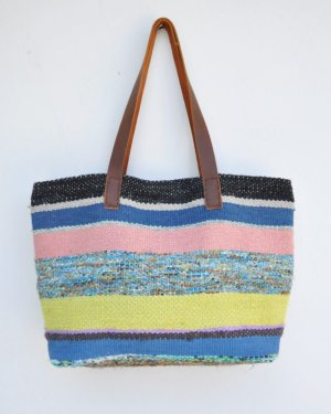さき織り トートバッグ L (0621)