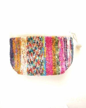 さき織りポーチ 0128