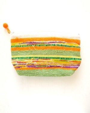 さき織りポーチ 0129