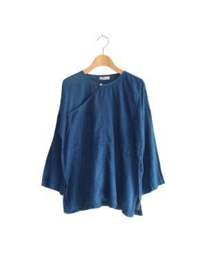 ガーゼ タイシャツ 藍染め
