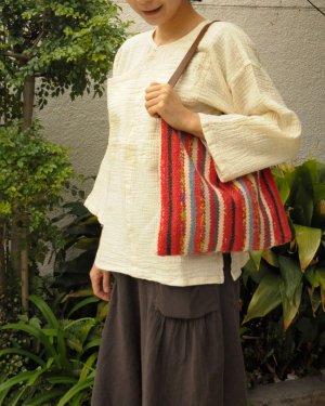 さき織り ワンショルダーバッグ 0407