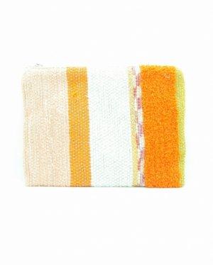 さき織りフラットポーチ 0729