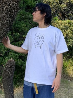 子どもの絵のTシャツ