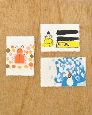 子どもの絵のカード