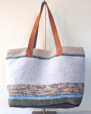 さき織り トートバッグ 1112