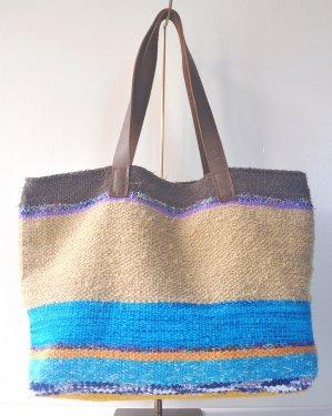 さき織り トートバッグ 1113