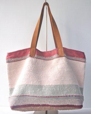 さき織り トートバッグ 1114