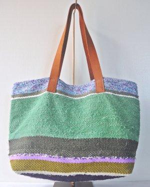 さき織り トートバッグ 1115