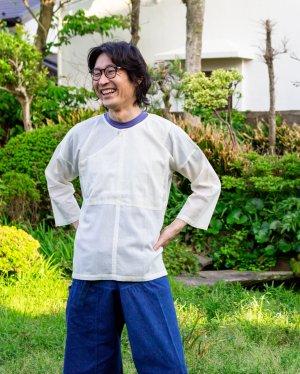 メンズガーゼタイシャツ
