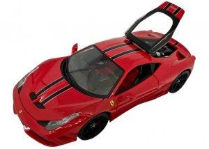 1/18ミニカー「フェラーリ458スペチアーレ」(レッド)ブラーゴ/シグネチャーシリーズ