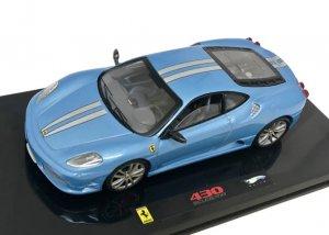 HotWheels Elite  1/43スケール「フェラーリF430スクーデリア」(ブルー)