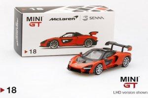 1/64スケール MINI GT マクラーレン・セナ(オレンジ/LHD)