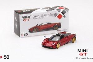 1/64スケール MINI GT パガーニ・ウアイラ・ロードスター(レッド/LHD)