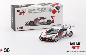 1/64スケール MINI GT 「ホンダNSX GT3」(東京オートサロン2018/LHD)