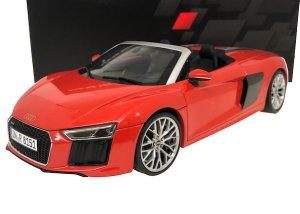 Audi Sport特注 1/18スケール「アウディR8スパイダー V10」(Dynamite red)
