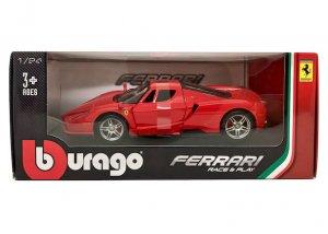 ブラーゴ 1/24スケール「エンツォ・フェラーリ」(レッド)Race & Playシリーズ