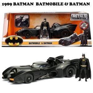 1/24スケール 1989 BATMAN BATMOBILE W/BATMAN