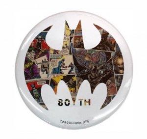 バットマン80周年記念デザイン缶バッジ(デザインB)