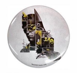 バットマン80周年記念デザイン缶バッジ(デザインA)