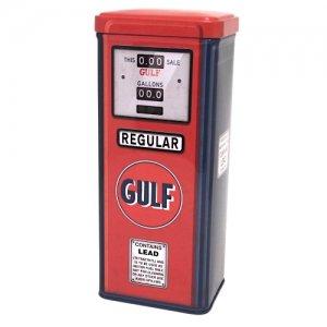 「GULF」ガスポンプデザイン缶ケース