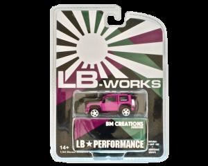 1/64スケール BMC「LB★nation Mini G」(Glitter Pink) ミニカー