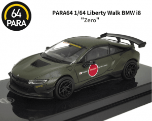 PARA64 1/64スケール「Liberty Walk BMW i8 Zero」ミニカー