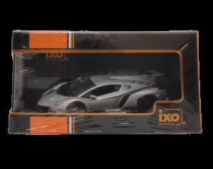 ixo 1/43スケール「ランボルギーニ・ヴェネーノ」(グレー) ミニカー