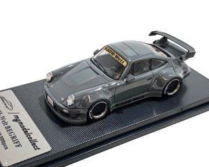 MODELCOLLECT 1/64スケール「RWB 930 GT Wing」(セメントグレー)ミニカー