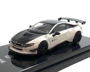 <img class='new_mark_img1' src='https://img.shop-pro.jp/img/new/icons5.gif' style='border:none;display:inline;margin:0px;padding:0px;width:auto;' />PARA64 1/64スケール「リバティーウォーク BMW i8」(ブラック&ホワイト) ミニカー
