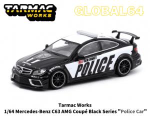 TARMAC WORKS 1/64スケール「メルセデスベンツC63 AMG ブラックシリーズ