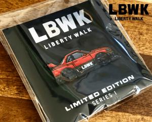 Liberty Walk「LBWK ピンバッチ」(デザイン/LB-ER34 Super Silhouette)