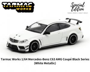 TARMAC WORKS 1/64スケール「メルセデスベンツ C63AMGクーペ ブラックシリーズ