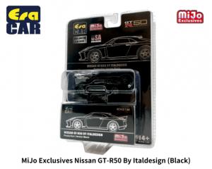 Era Car 1/64スケール「日産GT-R50 By Italdesign」(ブラック※MIJO限定カラー) ミニカー