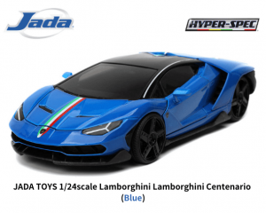 JADA TOYS 1/24スケール「ランボルギーニ・チェンテナリオ」(ブルー)ミニカー