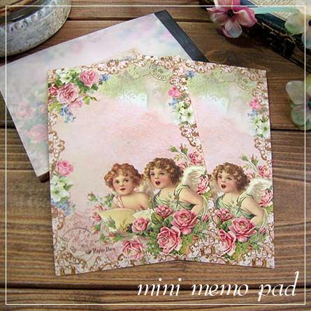 ミニメモ帳★天使の歌/ローズ