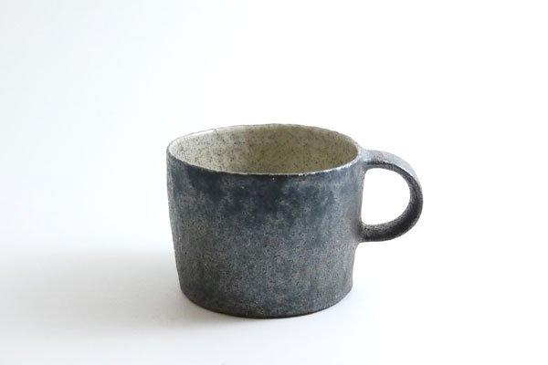 コーヒーカップ(黒灰)