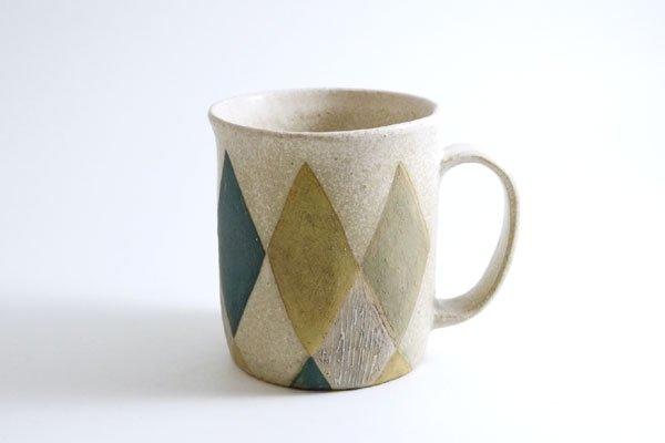 色化粧マグカップ(つつ型)