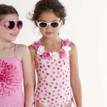 【残り一点!サイズ10のみ】Kate Mack ハートのワンピース水着(ジュニアサイズ)